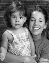 Lia & Cressida age 3