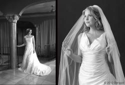 Bride Buffie & Model Jill